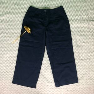 Tommy Bahama Twill Cropped Pants Sz 10